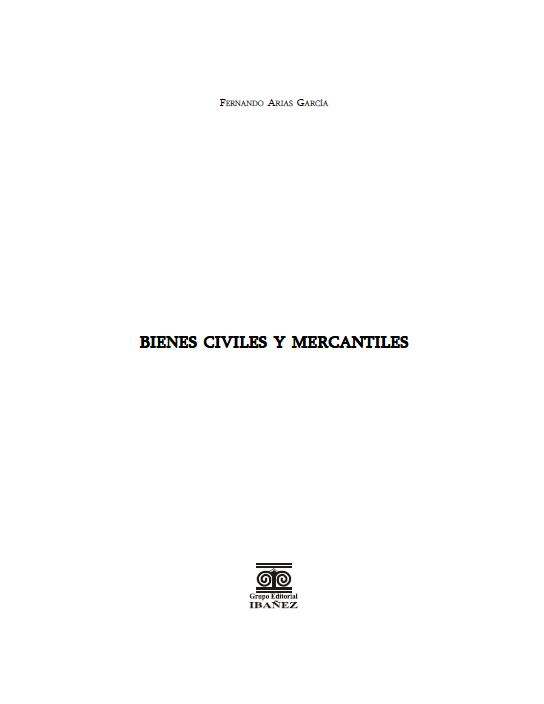 Bienes Civiles y Mercantiles