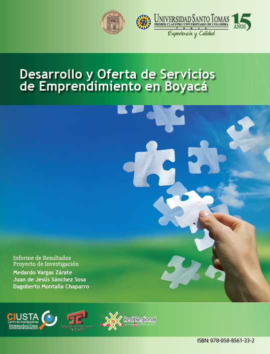 Desarrollo y Oferta de Servicios de Emprendimiento en Boyacá