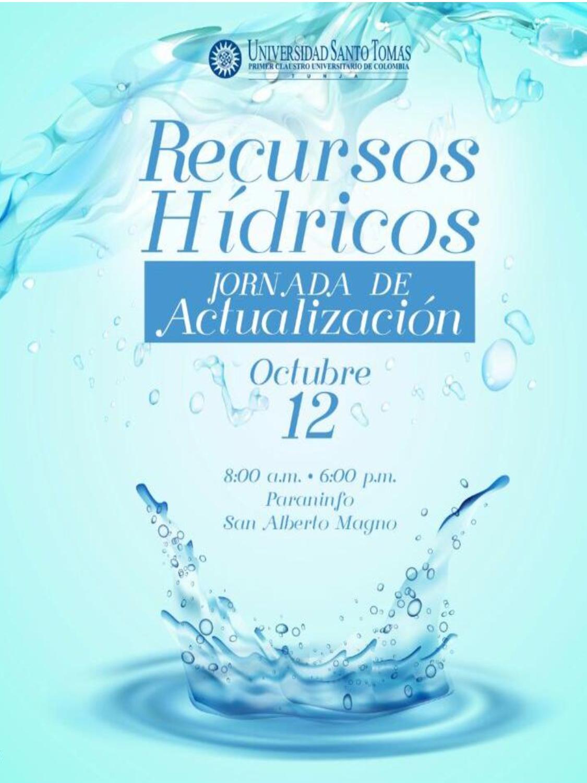 Memorias del Evento RECURSOS HÍDRICOS: JORNADA DE ACTUALIZACIÓN (En línea)