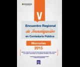 Memorias del V ENCUENTRO REGIONAL DE INVESTIGACIÓN EN CONTADURÍA PÚBLICA